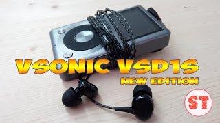 getlinkyoutube.com-VSONIC VSD1S обзор сравнение двух поколений наушников