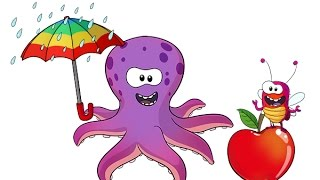 Ollie Octopus loves his vowels!