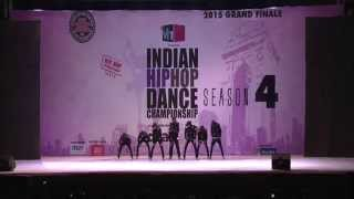 SCORPIONS CREW (2015 GOLD MEDALIST) THANE- INDIAN HIP HOP DANCE CHMAPIONSHIP 2015