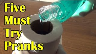 getlinkyoutube.com-5 Must Try Pranks and Booby Traps