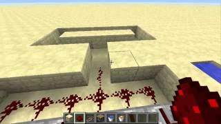 getlinkyoutube.com-#Minecraft l (Cobblestone)ماين كرافت- طريقة صنع الة بناء الجدران / مصنع حجر