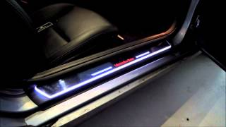 getlinkyoutube.com-MOVING DOOR-SCARF (AUDI,DOOR,STAB,LED,SCUFF,A4,A5,A6,genesis,coupe,avante,elantra,sportage,sorento)
