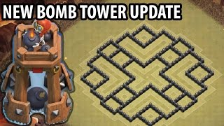 getlinkyoutube.com-Clash of Clans - Town hall 8 (Th8) War Base + BOMB TOWER - ANTi GoWipe ANTi Dragons ANTi GoHo