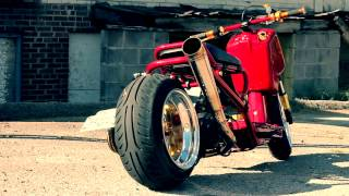 getlinkyoutube.com-LacedUP Honda Ruckus