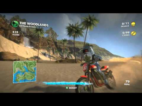 Xbox 360 - Motocross Madness [XBLA] [OFFICIAL TRAILER]