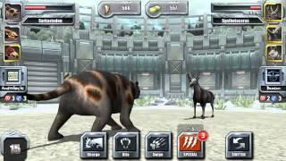 getlinkyoutube.com-NEW! Jurassic Park Builder Glacier EPIC Tournament Battle Arena Online
