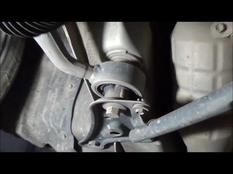 Toyota Mark2, Chaser, Verossa, Crown - Замена вертикального сайлентблока перенего нижнего рычага