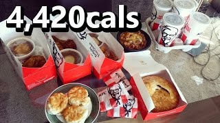 getlinkyoutube.com-KFC $5 Fill Up Challenge