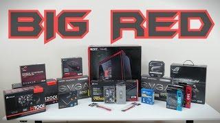 getlinkyoutube.com-Ultimate Gaming PC #3 - BIG RED - Part Selection (4K) Part 1