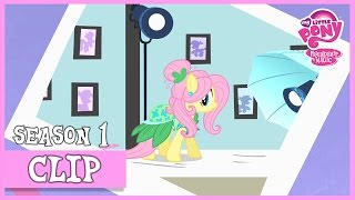 "getlinkyoutube.com-MLP: FiM – Fluttershy Gets Famous ""Green Isn't Your Color"" [HD]"