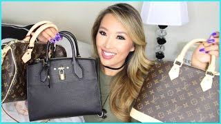getlinkyoutube.com-HUGE LOUIS VUITTON HAUL | WHAT I BOUGHT IN ITALY | hollyannaeree