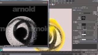 getlinkyoutube.com-Rendering Xgen fur with Arnold