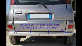 getlinkyoutube.com-Come installare i sensori di parcheggio posteriori