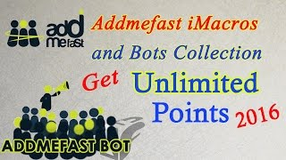 getlinkyoutube.com-Get Addmefast iMacros and Bots Collection 2016