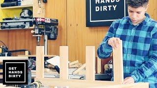getlinkyoutube.com-Wood Storage Wall: Building the Lumber Rack - Ep.2