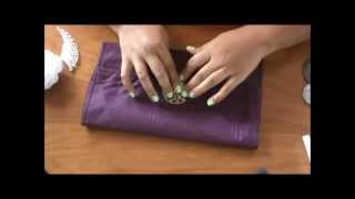 getlinkyoutube.com-DIY Clutch in less than 15 minutes :))
