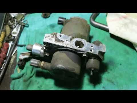 """Ремонт Toyota LC100 (система AHC """"гидроподвеска """") 4-я серия часть."""