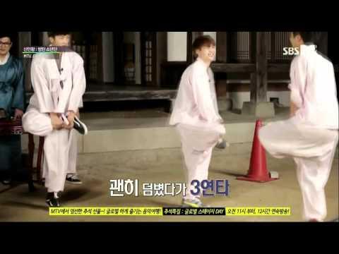 BTS (Bangtan Boys) Chicken Fight