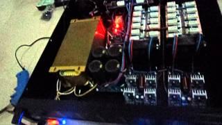 ร้อยซาวด์ เพาเวอร์แอมป์- เทสเบส 1200W