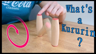 getlinkyoutube.com-Making Kururin: Rolling sticks! (traditional and weighted fidget toy)