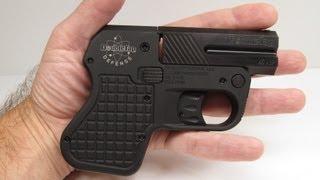 getlinkyoutube.com-DoubleTap 45 Auto Tactical Pocket Pistol Review Part 1 - Unboxing