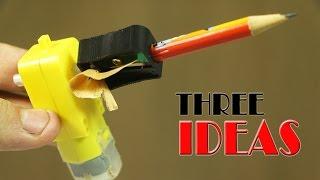 getlinkyoutube.com-Three Cool  Ideas Using Cheap DC Motors