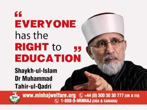 Educate a Child This Ramadan - Minhaj Welfare Foundation