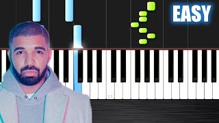getlinkyoutube.com-Drake - Hotline Bling - EASY Piano Tutorial by PlutaX - Synthesia