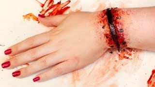 getlinkyoutube.com-FX MAKEUP SERIES: Reattached Hand