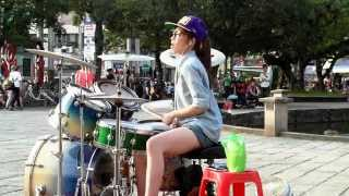 2014.05.17 爵士鼓 羅仕茹 ( 羅小白) -  FANTASTIC BABY