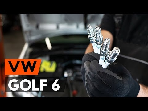 Как да сменим запалителни свещи / свещи на VW GOLF 6 (5K1) [ИНСТРУКЦИЯ AUTODOC]