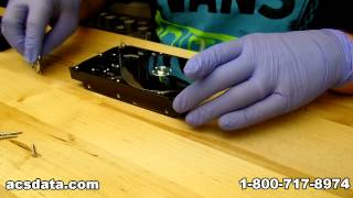 getlinkyoutube.com-DIY Hard Drive Repair - Seagate Platter Swap - Data Recovery Video Project 3