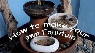 getlinkyoutube.com-how to make a fountain