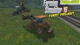 getlinkyoutube.com-Holzfäller am Start   Forst-Projekt #01 Landwirtschaft Simulator 15 ★ Let's Play LS 15