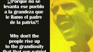 Pedro Albizu Campos habla sobre la independencia de Puerto Rico