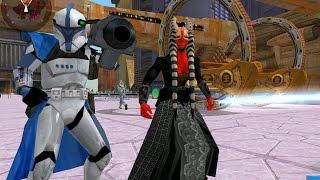 getlinkyoutube.com-Star Wars battlefront 2 Mods - Coruscant - Droid Invasion - Gameplay