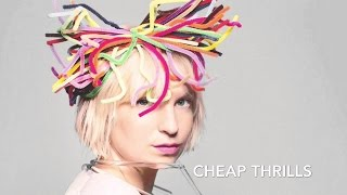 CHEAP THRILLS - SIA karaoke version download ( no vocal ) instrumental