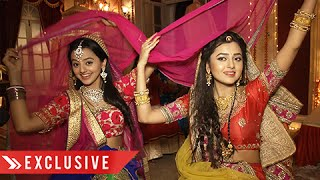 getlinkyoutube.com-Exclusive: Swara And Ragini Teach Dance Steps With Their Dupatta | Swaragini | Interview