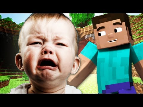 TROLLING a Little Kid in Minecraft
