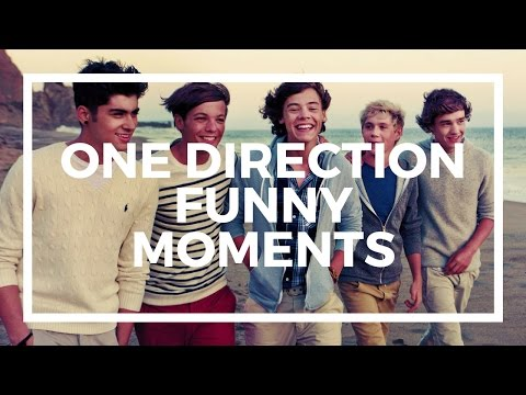 One Direction - Funny Moments :D