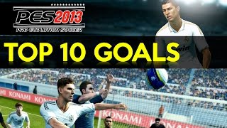 getlinkyoutube.com-[TTB] PES 2013 - Top 10 Goals! - Commentary Style