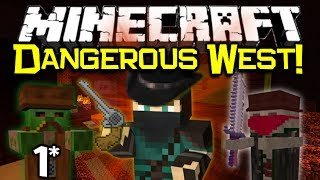 getlinkyoutube.com-Minecraft THE DANGEROUS WEST! - Mini Western Adventure Map Let's Play! Part 1/2