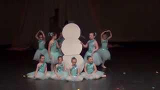 getlinkyoutube.com-Frozen Medley - Tarryn Wilkerson - Ballet Express