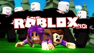 getlinkyoutube.com-SURVIVE A HORDE OF ROBLOX GUESTS! (Survive the Disasters)