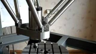LinuxCNC (EMC2) hexapod parallel robot machine tool