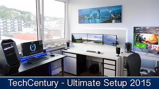 getlinkyoutube.com-Ultimate Gaming & Editing Setup Tour Summer 2015 (TechCentury)