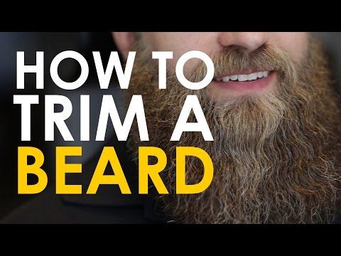 klippa skägg själv