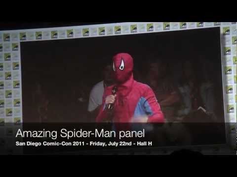 San Diego Comic-Con 2011: Amazing Spider-Man Panel Surprise