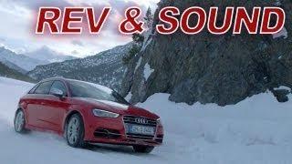 getlinkyoutube.com-NEW Audi S3 Sportback: Snow REV - SEXXYYY SOUND