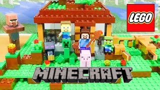 getlinkyoutube.com-レゴ【マインクラフト】ストップモーションLEGO Minecraft stop motion episode1 21115 mojang